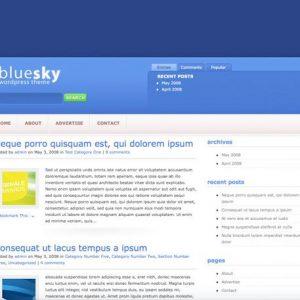 BlueSky Theme - ElegantThemes