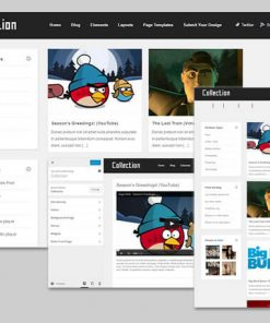 collection theme wordpress