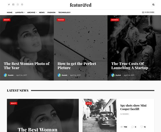Featured - ThemeJunkie