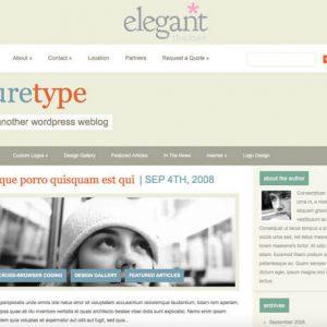 PureType - ElegantThemes