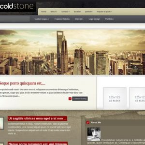 coldstone - elegantthemes
