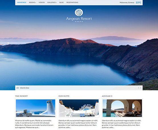 Aegean Resort - cssigniter