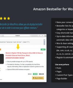Amazon Bestseller - codecanyon