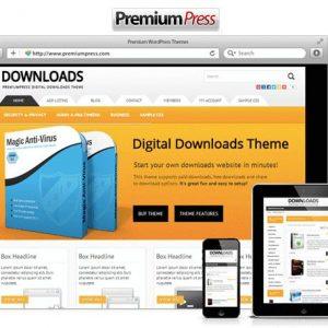 Digital Downloads - PremiumPress