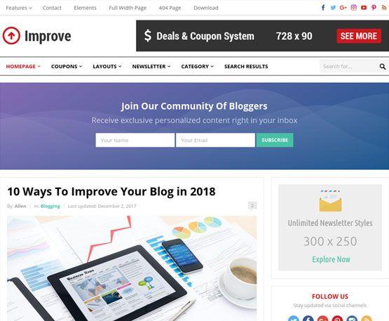 Improve - HappyThemes