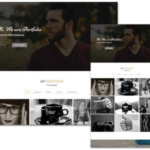 Portfolio Line - ThemeHunk