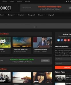 VideoHost - HappyThemes