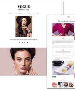 Vogue - TeslaThemes