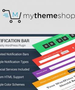 WP Notification Bar Pro - MyThemeShop