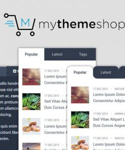 WP Tab Widget Pro - MyThemeShop