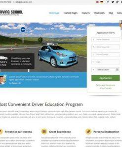 Driving School - aitthemes