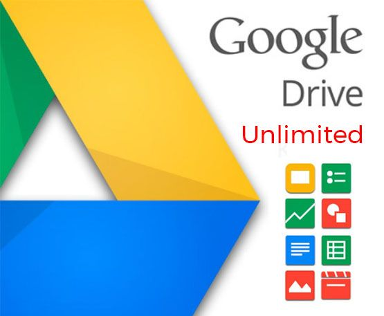 Account Google Drive Unlimited