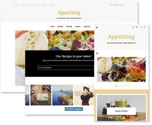 Appetizing - Themejunkie