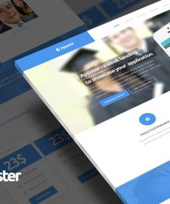 Appster - Clean & Minimal App Landing Page