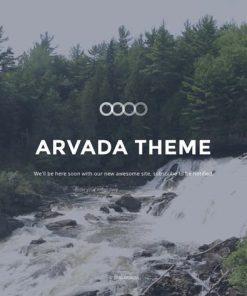 Arvada — Creative Coming Soon & Maintenance Mode T