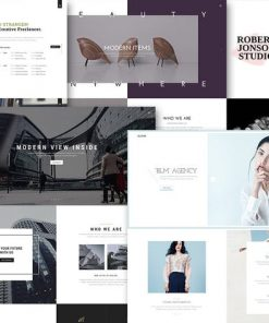 Bloom - One & Multi Page Portfolio HTML Template