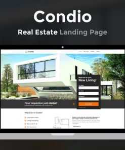 Condio - Real Estate Landing Page