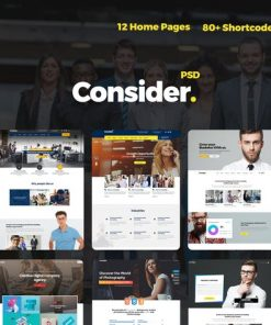 Consider - Consulting,Finance, Business Agency PSD