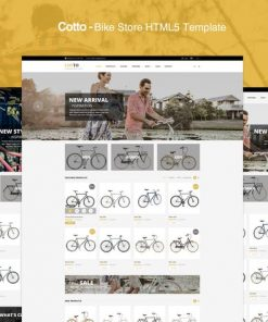 Cotto - Bike Store HTML5 template