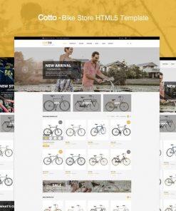 Cotto - Bike Store HTML5 template