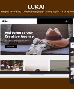 Creative Portfolio / Photography Template - Luka