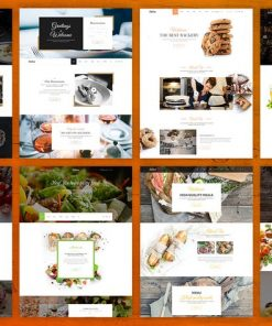 Delice - eCommerce Food & Restaurant Template