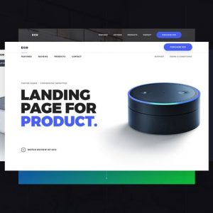Eco - Product Landing Page