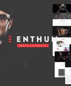 Enthum - Business Agency & Portfolio PSD Template