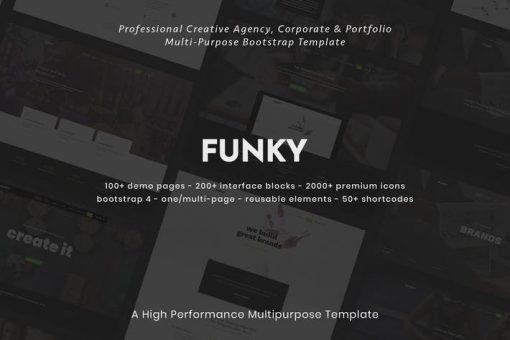 Funky - Creative Multipurpose Template