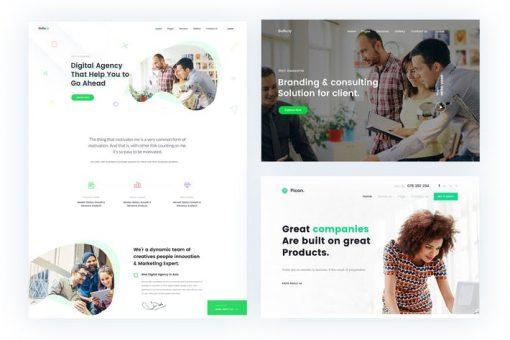 Gullu- Digital Agency & Multipurpose HTML Template