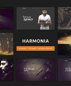 Harmonia - Multipurpose One/Multi-Page Template