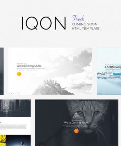 IQON - Fresh Coming Soon Template