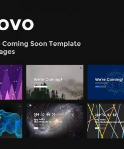 Innovo - Innovative Coming Soon Template