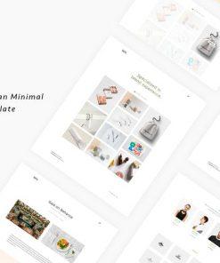Leto - Creative Minimal Portfolio Template