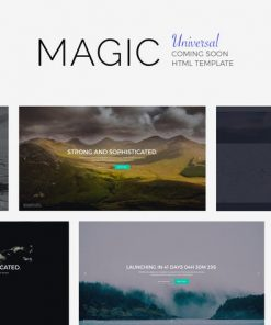 MAGiC - Universal Coming Soon Template