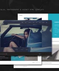 Modesto - Portfolio, Photography Html Template