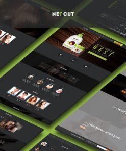 Neo Cut - HTML5, Responsive Hair Salon Template