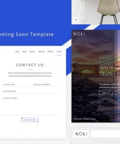 Oli - Responsive Coming Soon Template