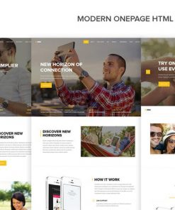 Omni - Modern Onepage HTML App Template