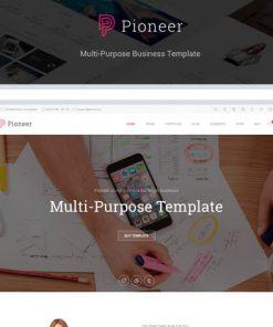 Pioneer - Multi-Purpose HTML 5 Corporate Template