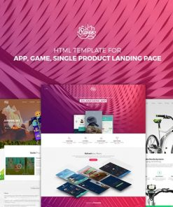 Riven - HTML Template for for App, Game, Products
