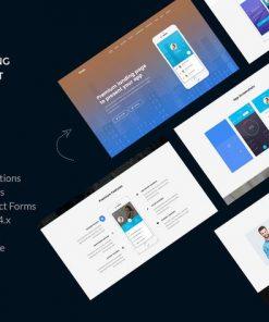 Snac - Premium App Landing Page HTML5 Template