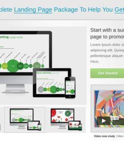 Start. Responsive Landing Page