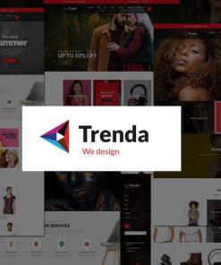Trenda - Multi Concept eCommerce PSD Template