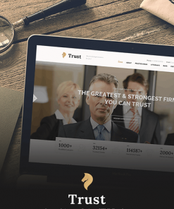 Trust - Lawyer & Attorney Business HTML Template