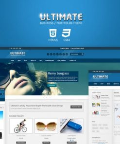 Ultimate - Responsive HTML Template