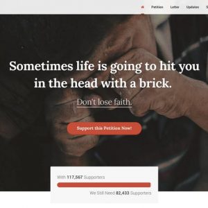 WeChange - One Page HTML Petition Template