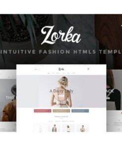 Zorka - An Intuitive Fashion HTML5 Template