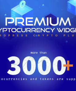 Premium Cryptocurrency Widgets - WordPress Crypto Plugin