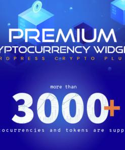 Premium Cryptocurrency Widgets - WordPress Crypto Plugin